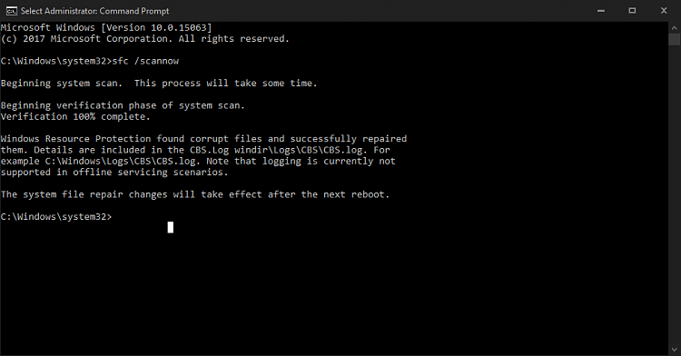 Game crashes without any error.-sfc-scannow.png