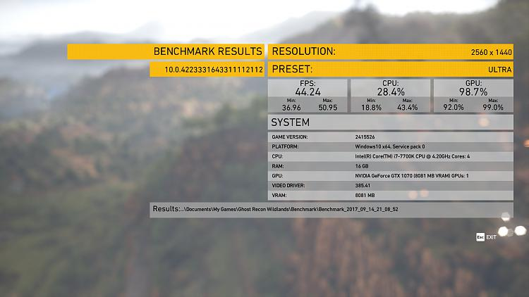 Click image for larger version.  Name:Tom Clancy's Ghost Recon  Wildlands Screenshot 2017.09.14 - 21.09.17.93.jpg Views:4 Size:197.7 KB ID:153399