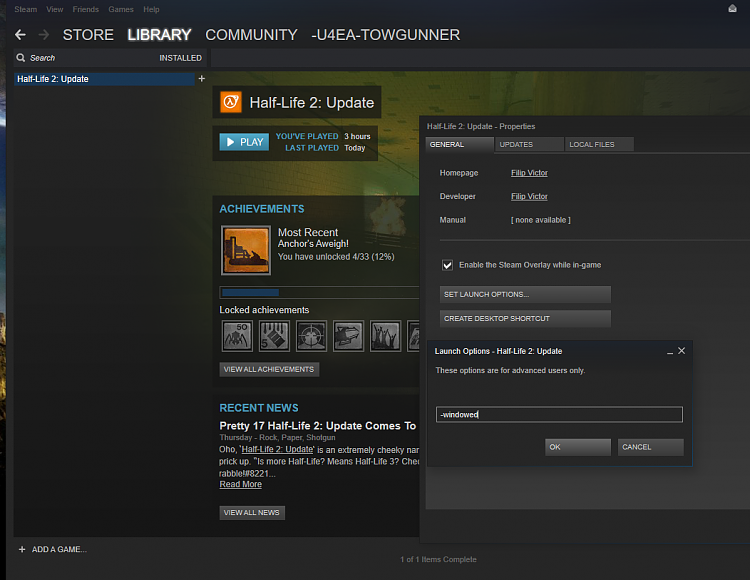 Half Life 2 update - Windows 10 Forums
