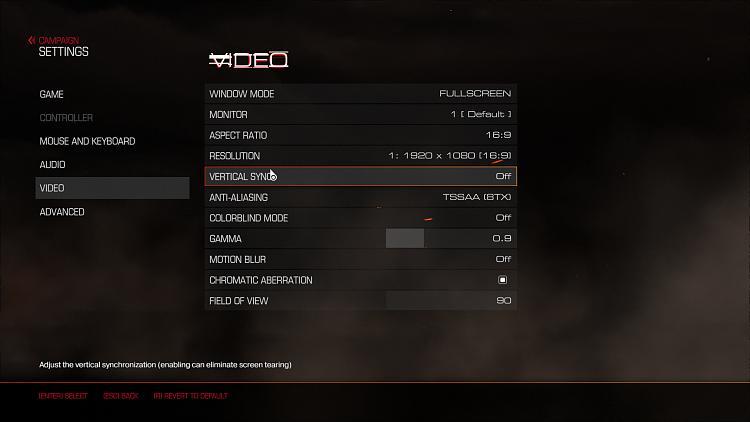 Click image for larger version.  Name:Doom Screenshot Vsync.jpg Views:0 Size:107.1 KB ID:156050