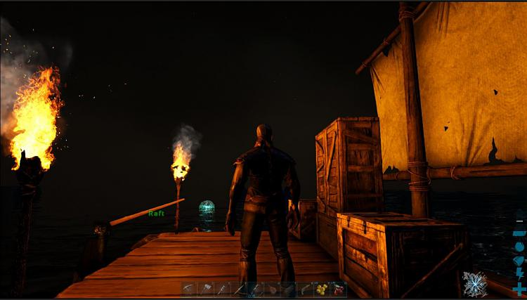 Click image for larger version.  Name:Raft at night.JPG Views:2 Size:110.4 KB ID:182415