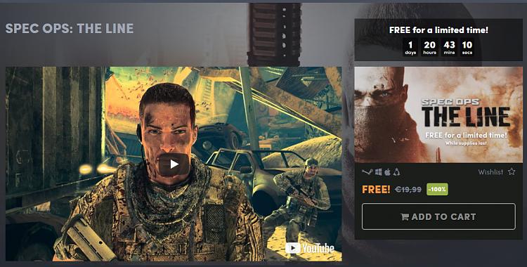 spec ops the line free download pc