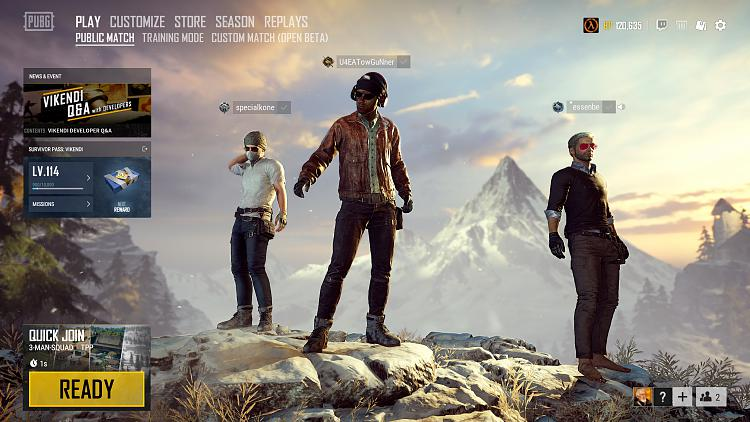 Click image for larger version.  Name:PLAYERUNKNOWN'S BATTLEGROUNDS Screenshot 2019.01.19 - 19.10.27.41.jpg Views:5 Size:367.8 KB ID:221542