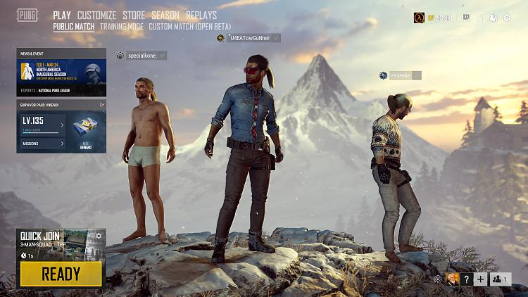 Click image for larger version.  Name:PLAYERUNKNOWN'S BATTLEGROUNDS Screenshot 2019.02.10 - 15.22.22.76.jpg Views:1 Size:327.5 KB ID:223954