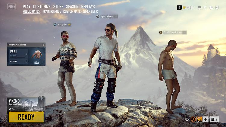 Click image for larger version.  Name:PLAYERUNKNOWN'S BATTLEGROUNDS Screenshot 2019.02.16 - 15.47.43.00.jpg Views:1 Size:212.5 KB ID:224659