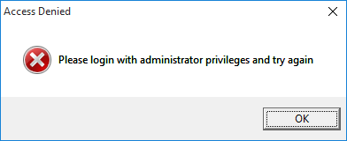 Access Denied! Please login with administrator privilege and try again-error.png