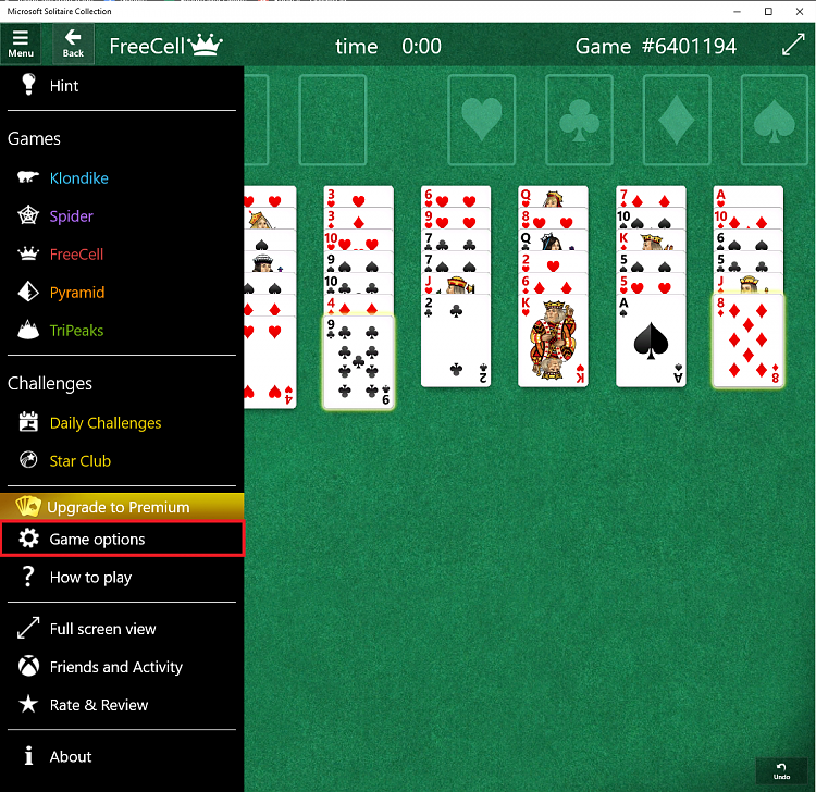 Freecell in Windows 10 - Windows 10 Forums