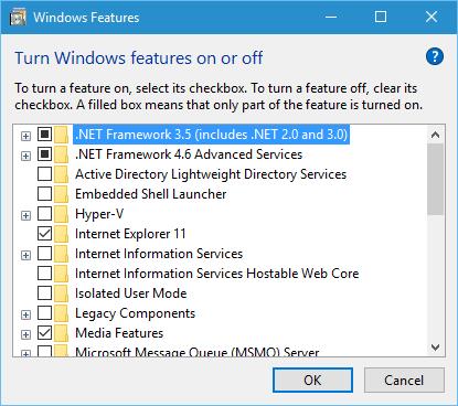 .net framework 3.5 windows 7 wont install