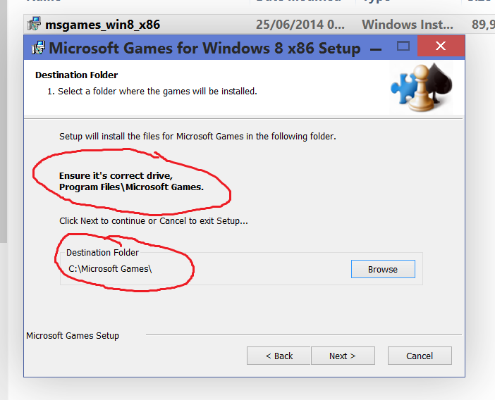 Problems installing W7 Classic Games.-location-accepted.png