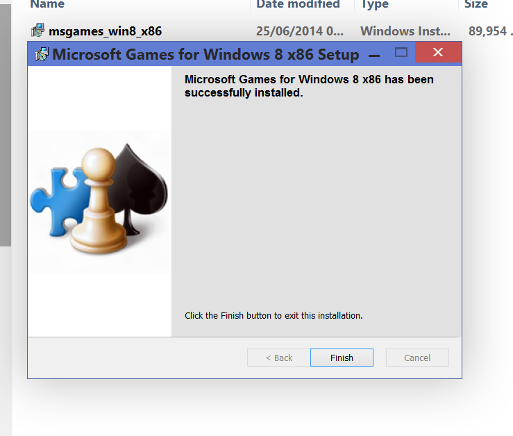 Problems installing W7 Classic Games.-installed.png