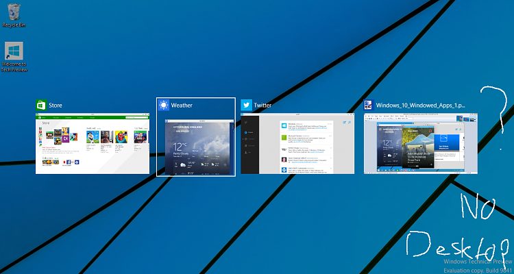 How get to desktop from game Solved - Windows 10 Forums