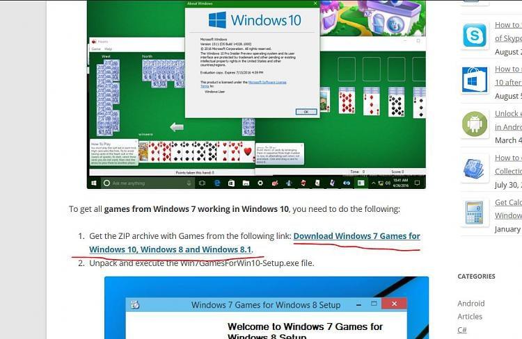 microsoft windows 7 freecell download