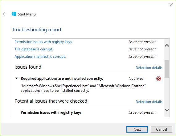 Start menu not working, nor search bar, jump lists, clock, etc-startmenutroubleshooter.png