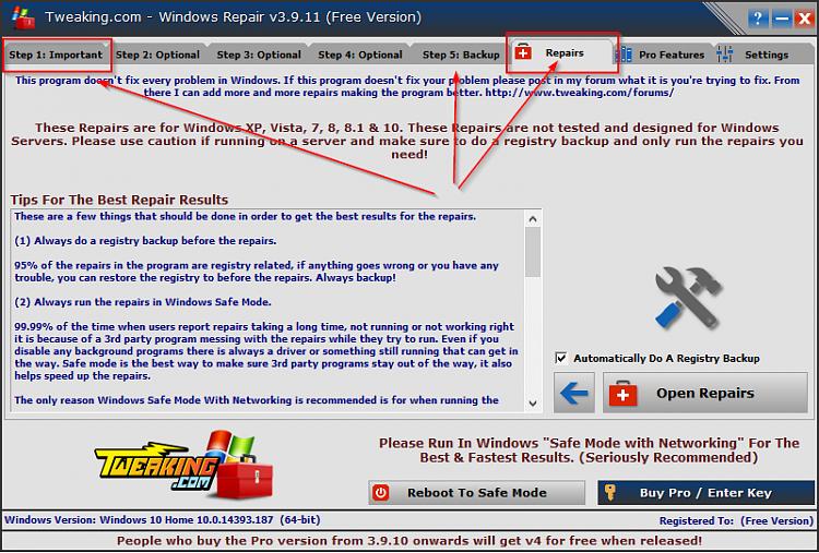 Post 1607 update start menu/apps not working-tool.png