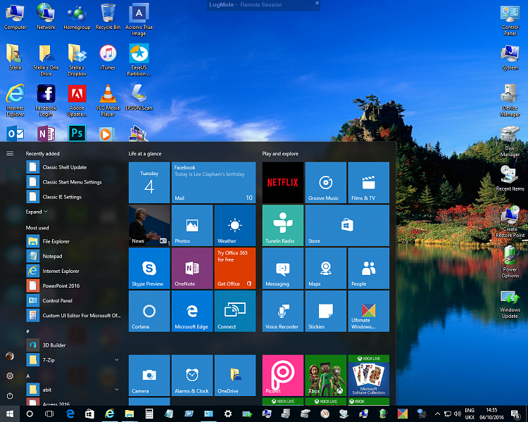 Click image for larger version.  Name:Windows 10 - 1607 - Start Menu Icons 1.png Views:3 Size:1.25 MB ID:104386