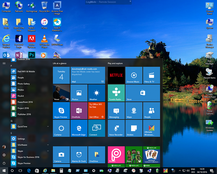 Click image for larger version.  Name:Windows 10 - 1607 - Start Menu Icons 3.png Views:2 Size:1.24 MB ID:104388