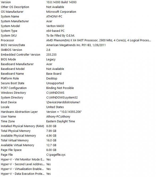Click image for larger version.  Name:pc specs.JPG Views:2 Size:85.4 KB ID:104810