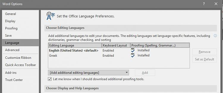 Problem with input languages (changing) Solved - Windows 10 Forums