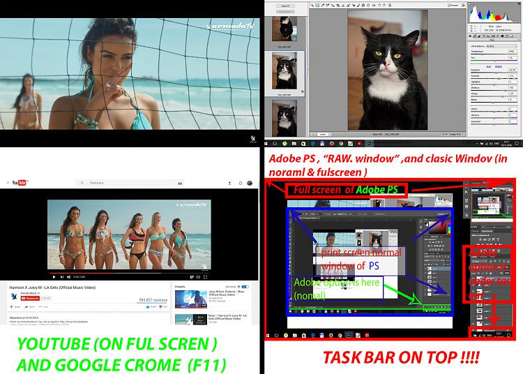 How do i disable always on-top taskbar ? Solved - Page 2 ...