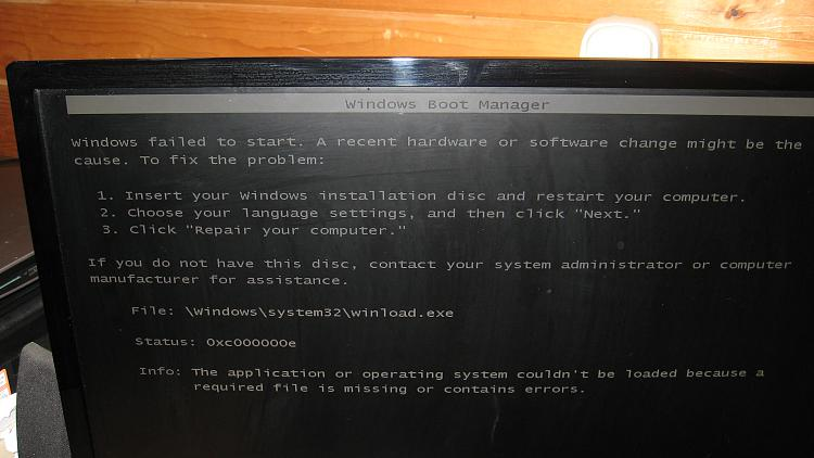 EasyBCD Windows 10 SSD Boot Screen.JPG