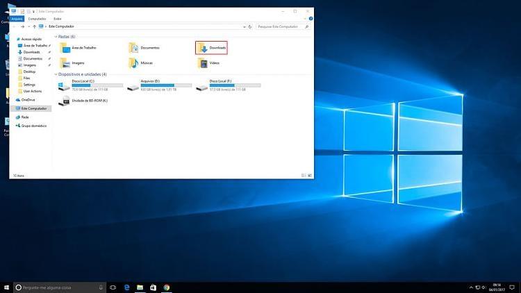 Downloads Folder Icon Missing Solved Windows 10 Forums