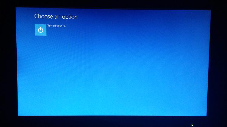 Advance boot options empty - Windows 10 Forums