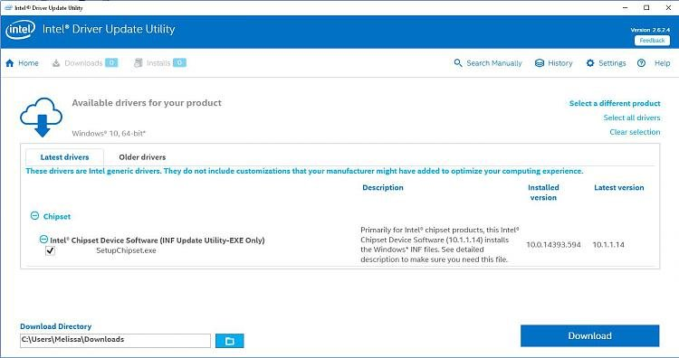 Click image for larger version.  Name:Intel driver update utility.jpg Views:5 Size:86.3 KB ID:118265