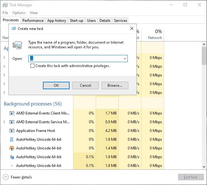 Click image for larger version.  Name:Taskmgr New Task.jpg Views:11 Size:176.2 KB ID:119458