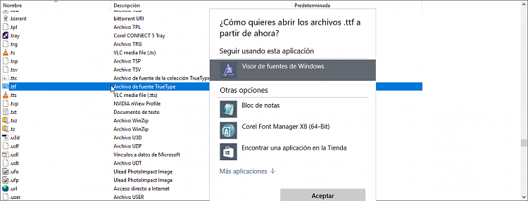 Can't preview any font in Windows 10 recent install