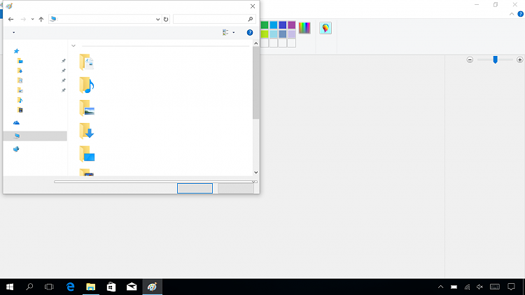 no text displayed in explorer after creators update