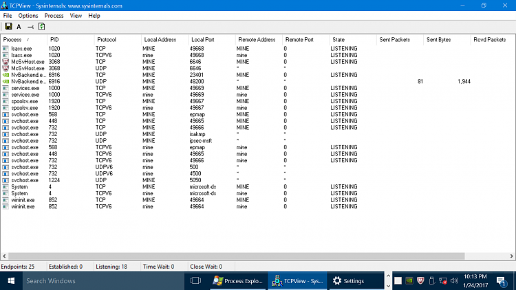Click image for larger version.  Name:tcpviewer nvidia.png Views:10 Size:269.3 KB ID:129223