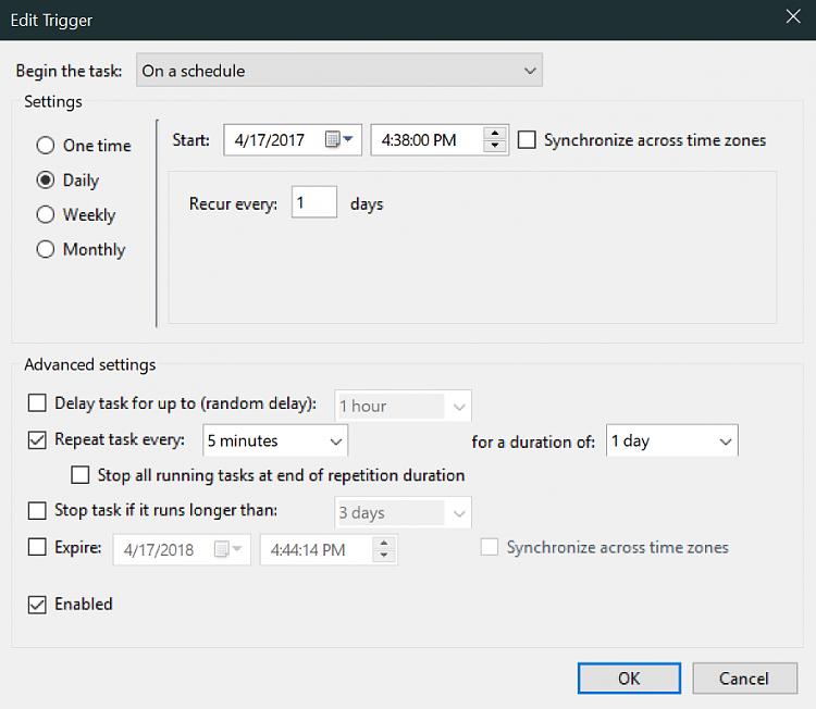 Cannot run BAT file with Task Scheduler