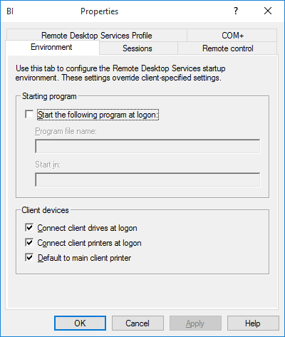 admin tools are not functioning properly in windows 10