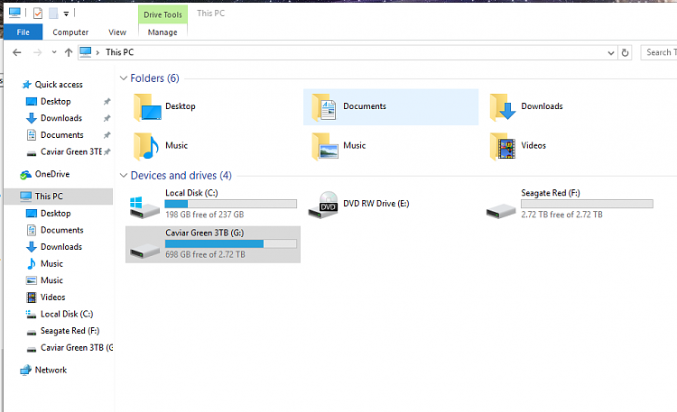 """Seeing two """"Music"""" folders in This PC menu, """"Pictures"""" missing-image.png"""