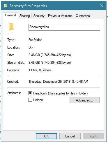 Click image for larger version.  Name:Folder attributes.JPG Views:26 Size:37.6 KB ID:139086