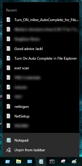 Click image for larger version.  Name:notepad recent list.png Views:25 Size:66.5 KB ID:140915