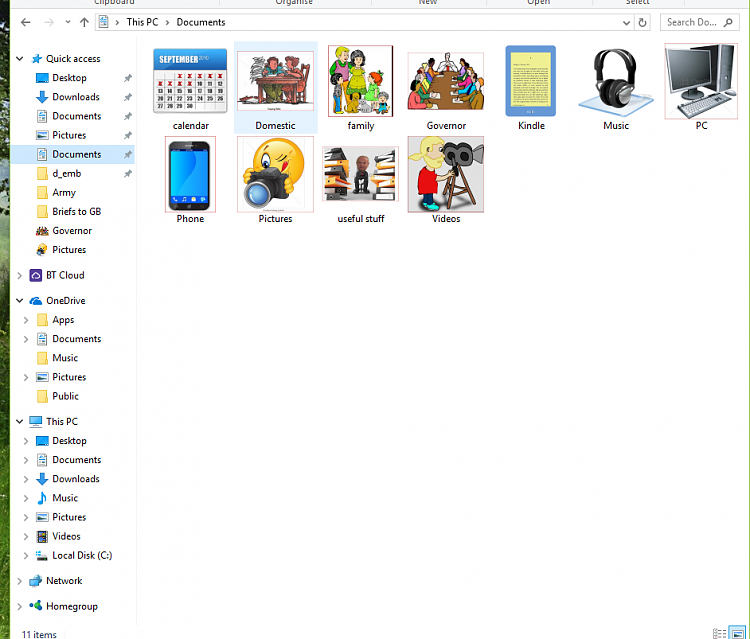 "Documents folders in ""Quick Access"", ""One Drive"" and ""This PC""-second-documents-tab-quick-access.png"