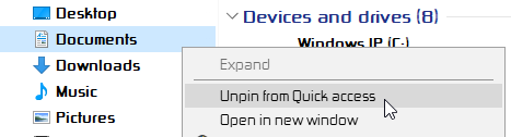 """Documents folders in """"Quick Access"""", """"One Drive"""" and """"This PC""""-000032.png"""