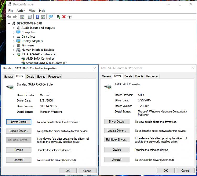 Windows 10 power options/ processor power management
