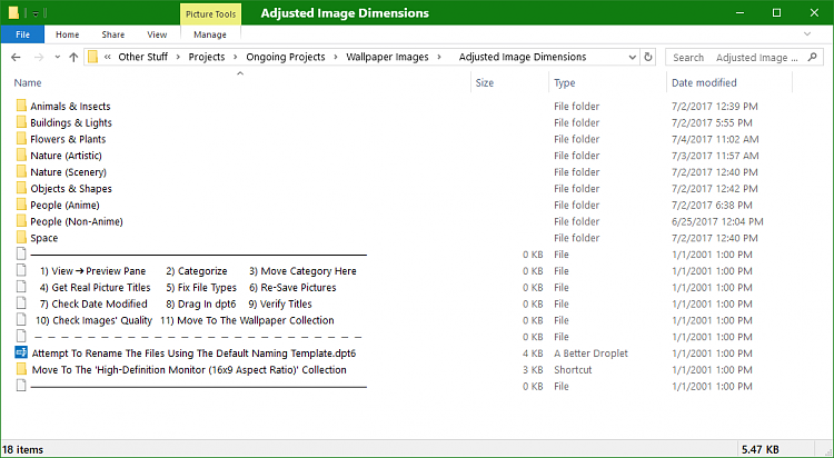 How to get File Explorer to sort folders and files together?-file-explorer-reorganization.png