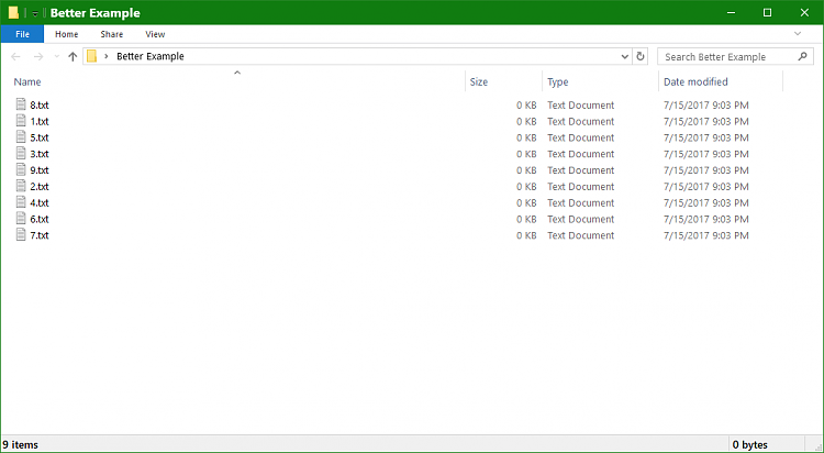 How to get File Explorer to sort folders and files together?-better-example.png