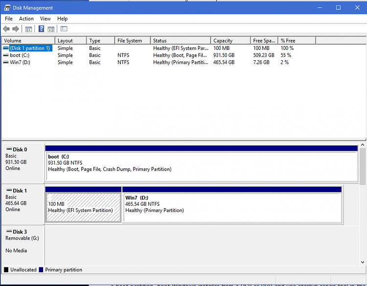 No boot partition on boot drive after clean install with 2nd drive-partitions.png