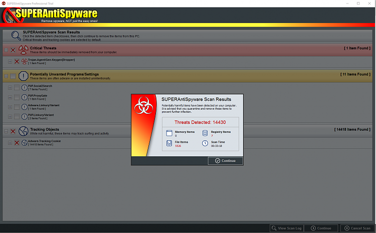 Not BSOD, but lots of issues - OS corrupt or virus (or both)?-sas-srcreen.png