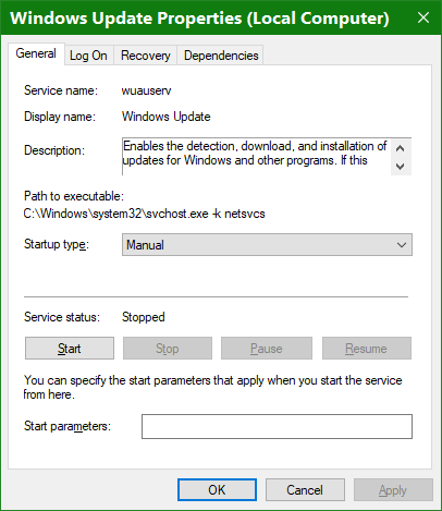 windows services greyed out - Windows 10 Forums