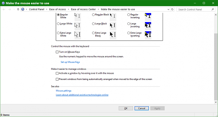 Windows 10 snap feature no longer works-mouse-settings.png
