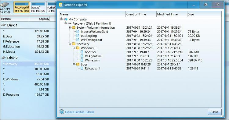 Click image for larger version.  Name:Disk 2 P1 Recovery.jpg Views:2 Size:102.4 KB ID:151527