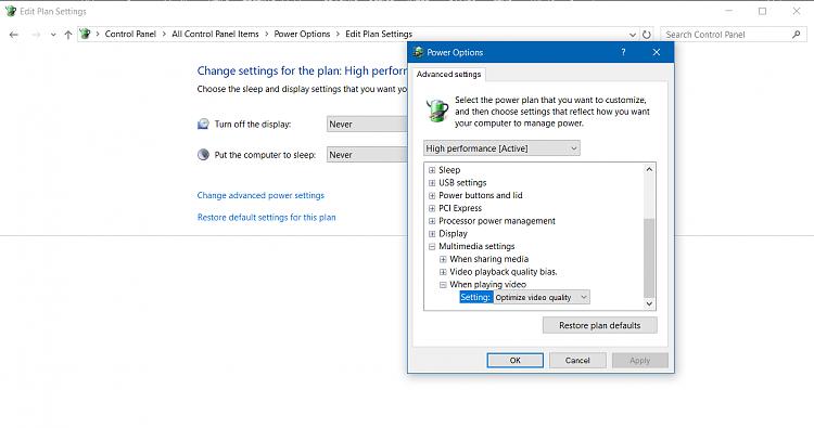 Video player small stutter - Windows 10 Forums