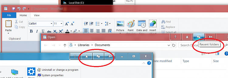 How do I expand the 'Recent' list in the File Explorer?-untitled.png