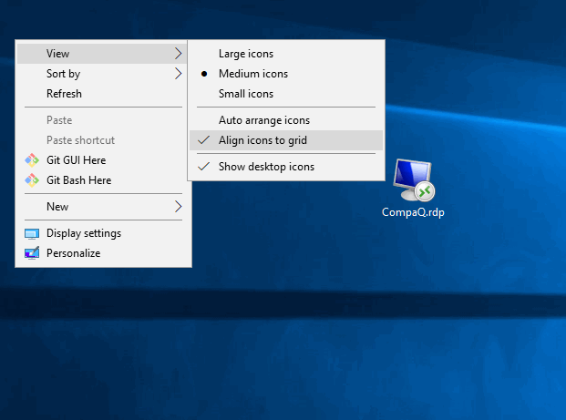 Windows 10 Laptop Desktop Icons Keep Rearranging to the left side-right-click.png