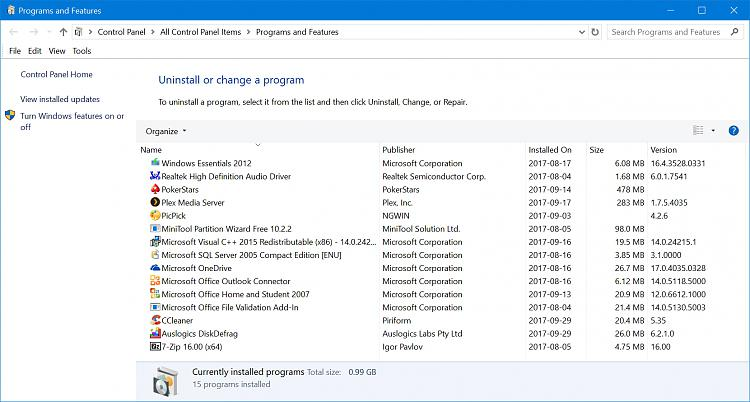 Microsoft Surface Pro1/Programs & Features list /alphabetical order-programs-features-list.jpg